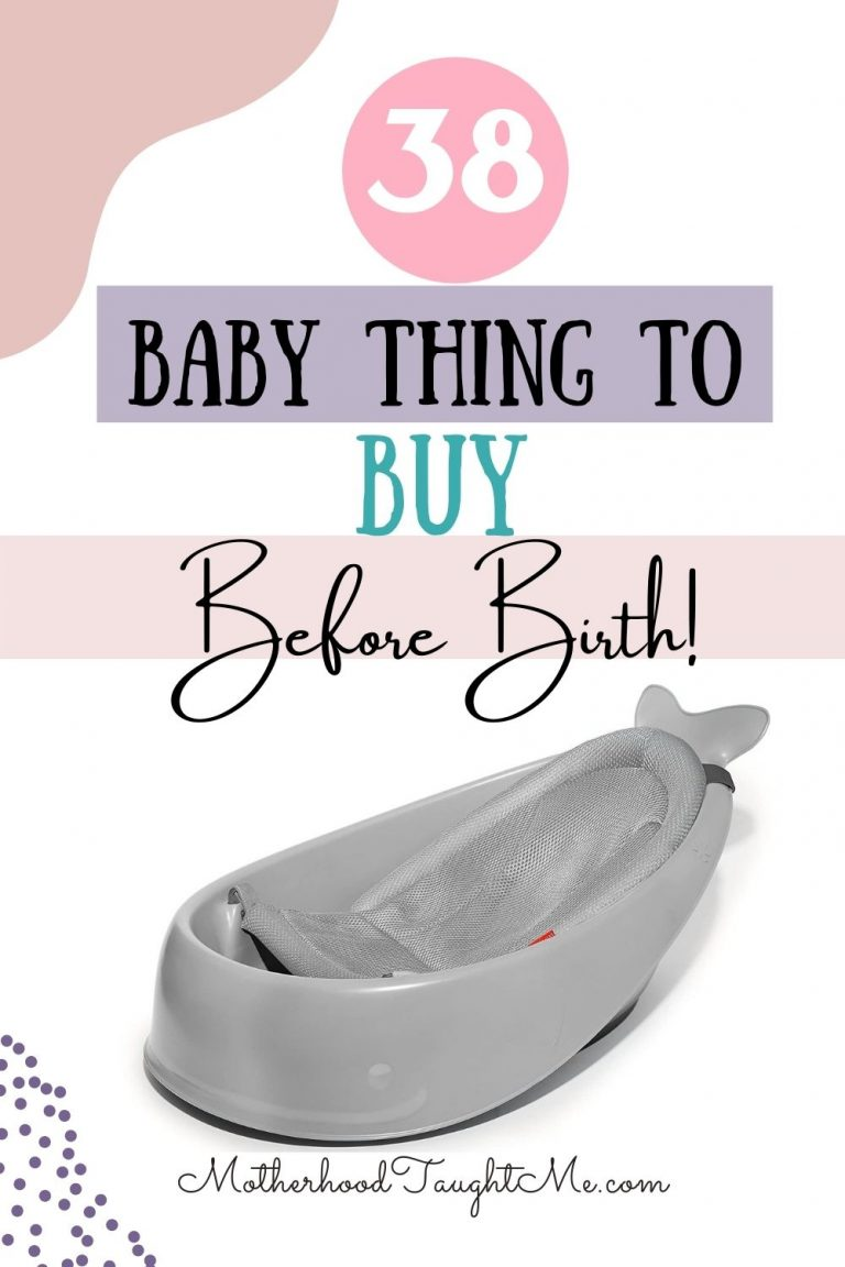 38 Baby Things To Buy Before Birth!