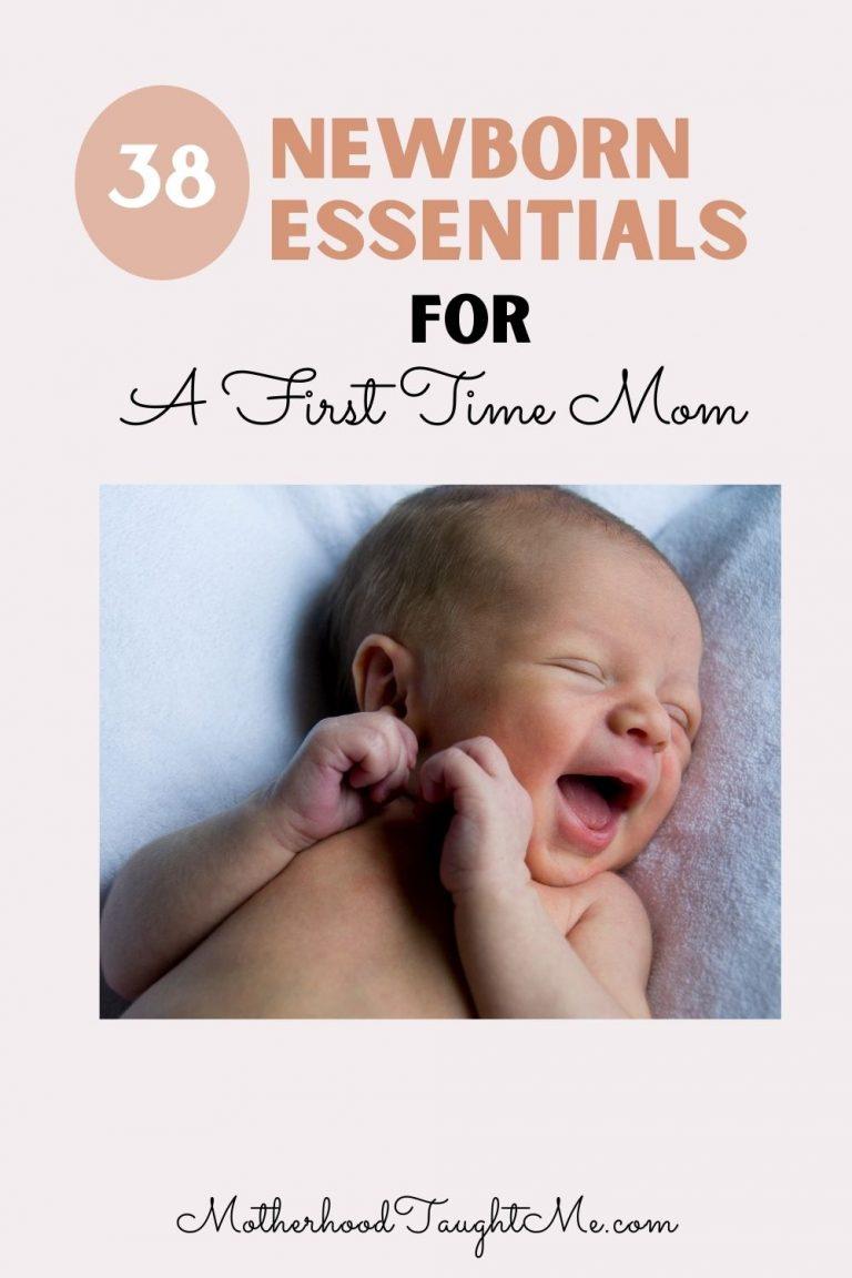 38 Newborn Essentials for First-Time Mom