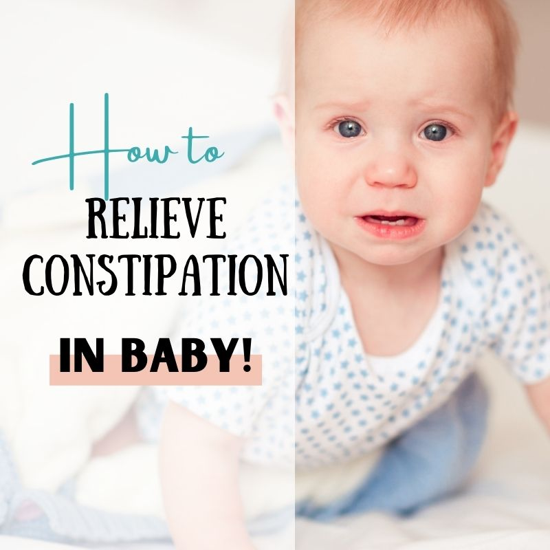 How to relieve constipation in baby?