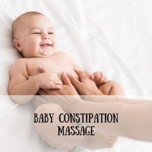baby constipation massage