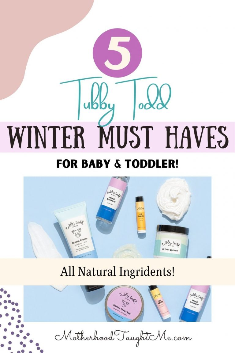 Tubby Todd Winter Must Haves for Baby & Toddlers