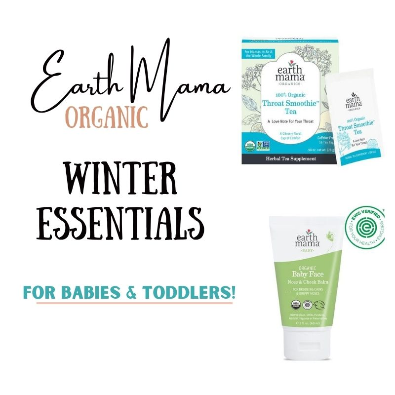 6 Earth Mama Organic Winter Essentials for Babies and Toddlers!